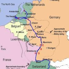 Cycle along the Rhine - Bucket List Ideas