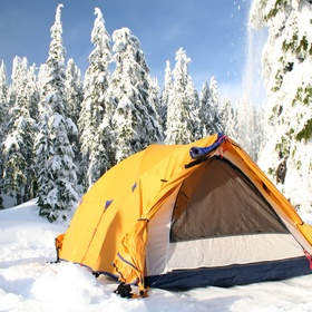 Camp in sub-zero temperatures - Bucket List Ideas