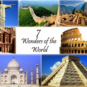 Visit all Seven Modern World Wonders - Bucket List Ideas