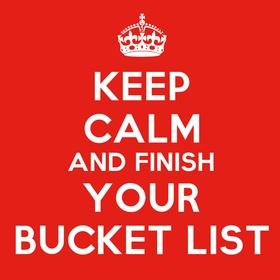 Finish this bucketlist! - Bucket List Ideas