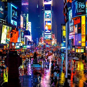 Walk on Broadway in NYC - Bucket List Ideas