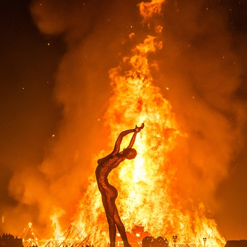 Go to Burning Man Festival - Bucket List Ideas