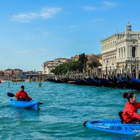 Canoe in Venice - Bucket List Ideas