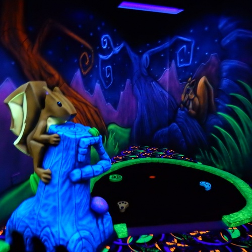 Play glow in the dark mini golf - Bucket List Ideas