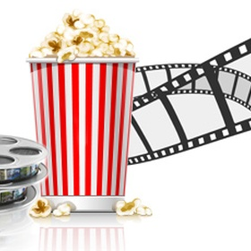 Go to the Movies at Once a Month for a whole Year - Bucket List Ideas