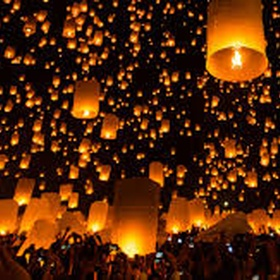 Attend a lantern festival - Bucket List Ideas