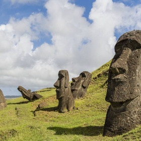 Visit the Moai Statues of Easter Island - Bucket List Ideas
