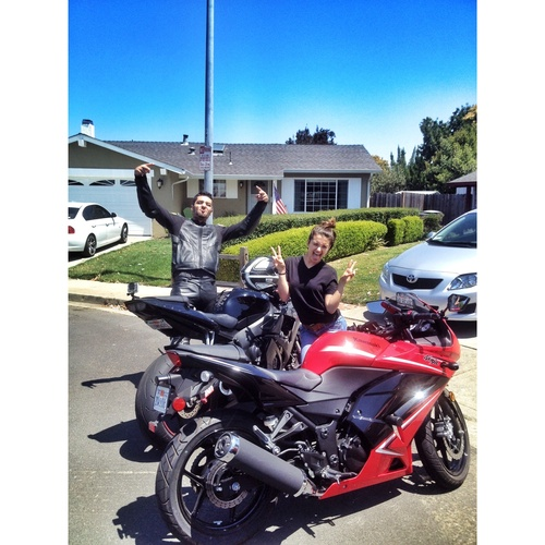 Learn how to ride a motorcycle - Bucket List Ideas