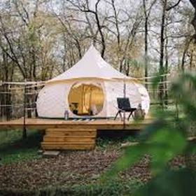 Camp in a yurt - Bucket List Ideas