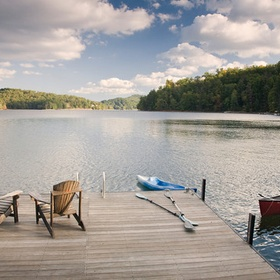Buy a house on a lake - Bucket List Ideas