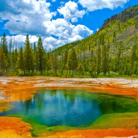Camp in Yellowstone National Park - Bucket List Ideas