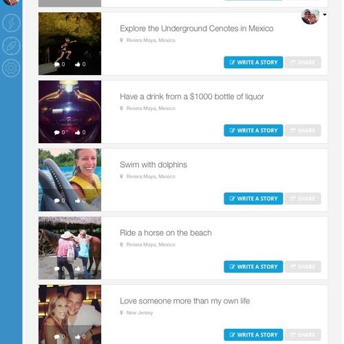 Create/Maintain a blog about all my travels / bucketlist experiences - Bucket List Ideas
