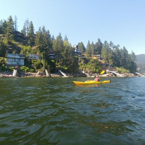 Kayaki on the Pacific Ocean - Bucket List Ideas