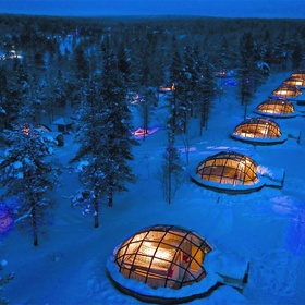 Stay in a glass igloo and watch the northern lights - Bucket List Ideas