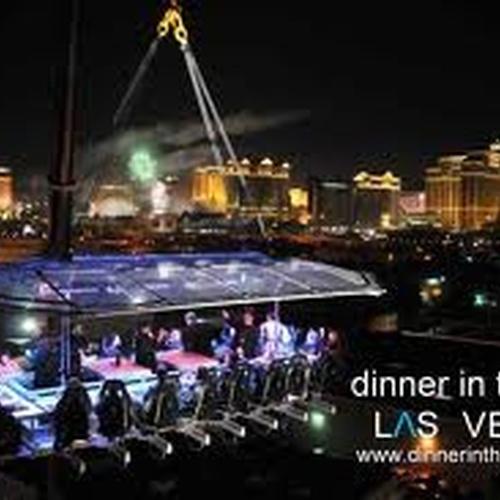Have dinner in the sky! - Bucket List Ideas