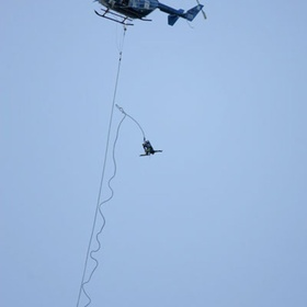 Bungee jump from a helicopter - Bucket List Ideas