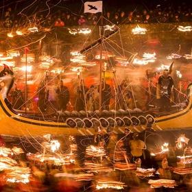 Celebrate 'Up Helly Aa Fire Festival' Shetland Islands, UK - Bucket List Ideas