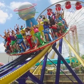 Go to Six Flags Fiesta Texas - Bucket List Ideas
