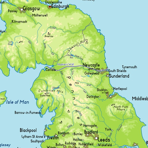 Hike Hadrian's Wall trail from coast to coast - Bucket List Ideas