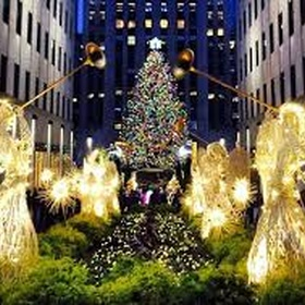Watch the tree lighting in New York City - Bucket List Ideas