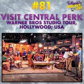 Visit Central Perk; USA - Bucket List Ideas
