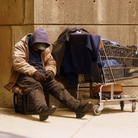 Give money to a homeless person - Bucket List Ideas