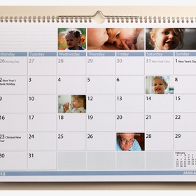 Make a calendar out of your favourite photos - Bucket List Ideas