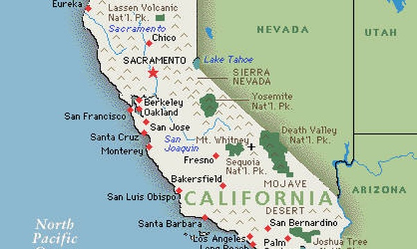Go to California - Bucket List Ideas