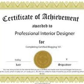 Be a Licensed Interior Designer - Bucket List Ideas