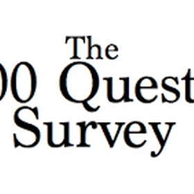 Complete The '5,000 Question Survey' Attempt #2 - Bucket List Ideas