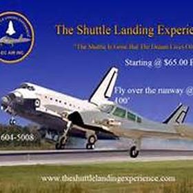 Fly on the Shuttle Landing Experience - Bucket List Ideas