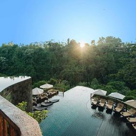 Swim In The Infinity Pools at Ubud Hanging Gardens, Indonesia - Bucket List Ideas