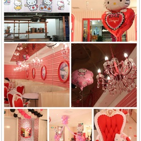 🍴 Eat at Hello Kitty Theme Dreams Restaurant in China - Bucket List Ideas