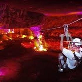 Ride the underground Ziplines at Mega Caverns Louisville, Kentucky - Bucket List Ideas