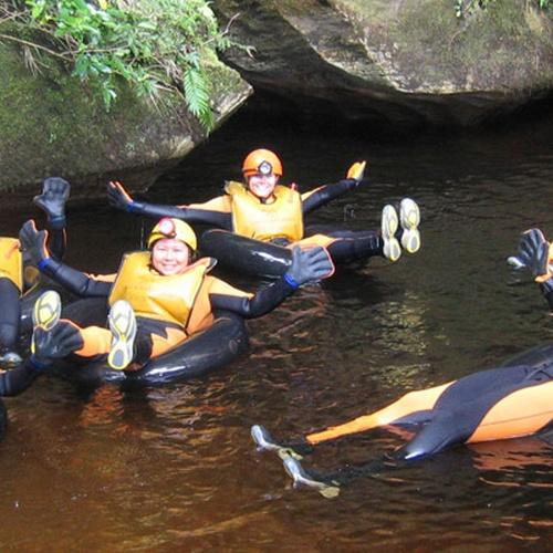 Go black water rafting in New Zealand - Bucket List Ideas