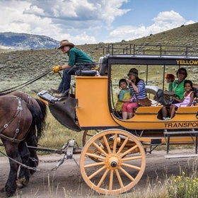 Go on a Stagecoach Ride in Yellowstone, USA - Bucket List Ideas