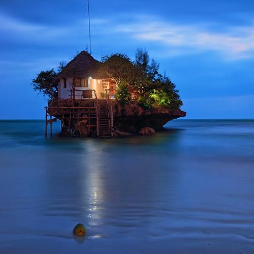 🍴 Eat at the Rock Restaurant in Zanzibar, Tanzania - Bucket List Ideas