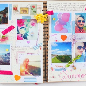 Create a scrapbook - Bucket List Ideas