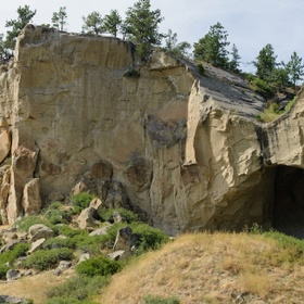 Visit Pictograph Cave State Park in Billings Montana - Bucket List Ideas