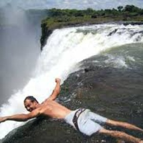 Visit Victoria Falls and swim in Devil's Pond - Bucket List Ideas