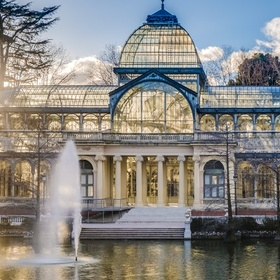 Go to the Palacio de Cristal in Madrid, Spain - Bucket List Ideas