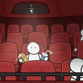 GO TO MOVIES BY MYSEFT - Bucket List Ideas