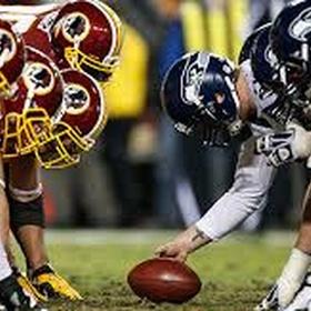 Redskins Seahawks football - Bucket List Ideas