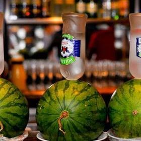 Make a vodka watermelon - Bucket List Ideas