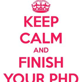 Finish my phd - Bucket List Ideas