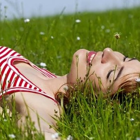 Lying on the grass - Bucket List Ideas