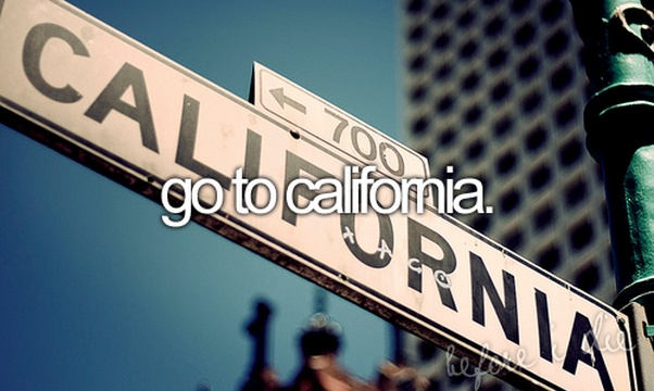 Visit California - Bucket List Ideas