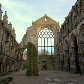 Explore Holyrood Abbey Ruins Scotland - Bucket List Ideas