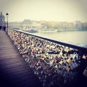 Visit lock bridge in Paris - Bucket List Ideas