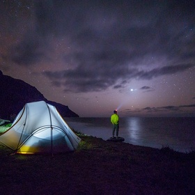 Sleeping in a tent for One night - Bucket List Ideas
